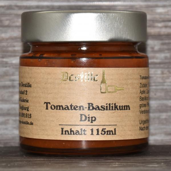 Tomaten-Basilikum Dip