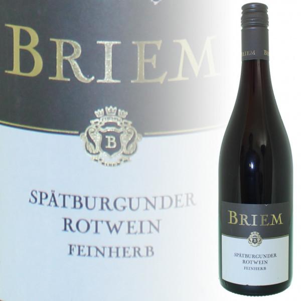 Peter Briem Spätburgunder Rotwein feinherb