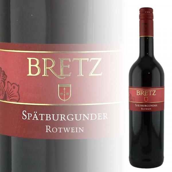 Bretz Spätburgunder Rotwein lieblich