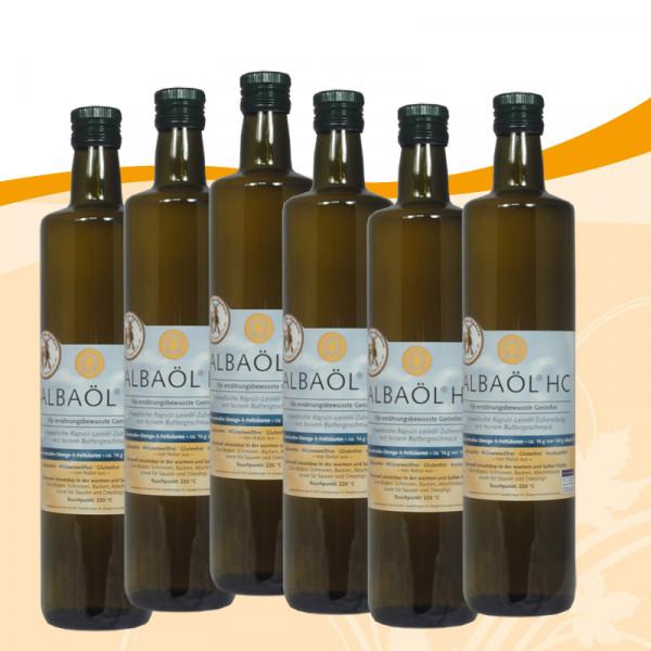 Albaöl-HC 0,75 Liter 6 Flaschen