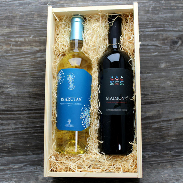 Weinpräsent Sardinien