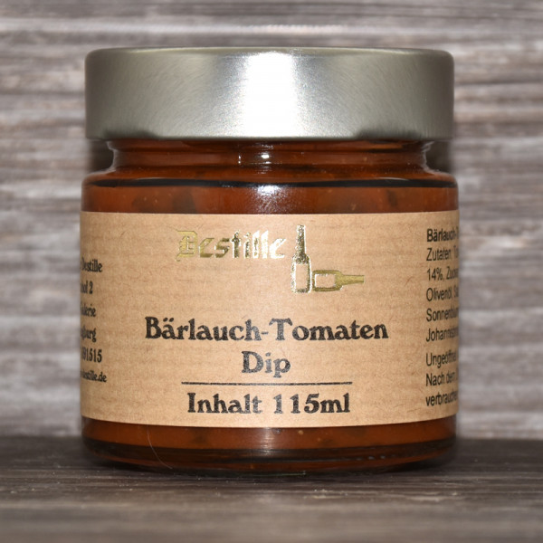 Bärlauch Tomaten Dip