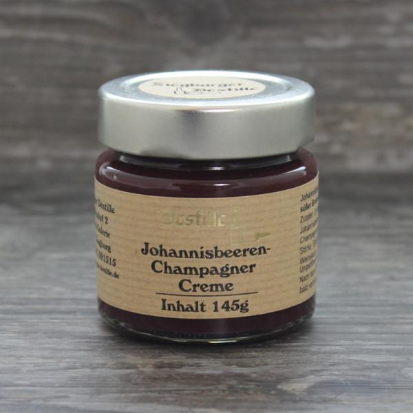 Johannisbeeren-Champagner Creme