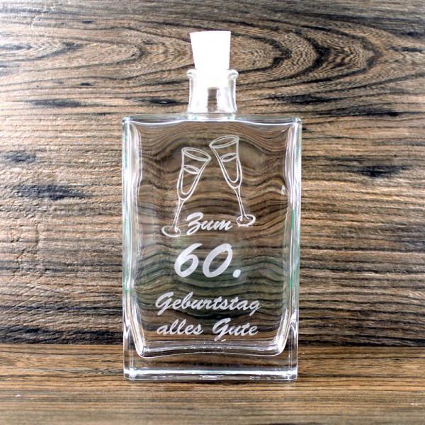 Flasche zum 60. Geburtstag