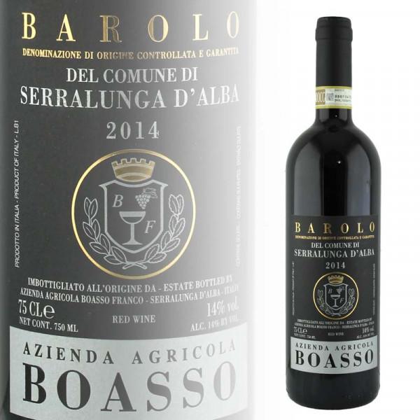 Franco Boasso Barolo del Comune di Serralunga d'Alba