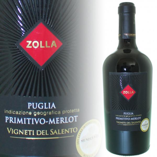 Vigneti del Salento Zolla Primitivo-Merlot Puglia