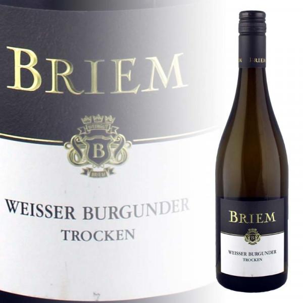 Peter Briem Weisser Burgunder trocken