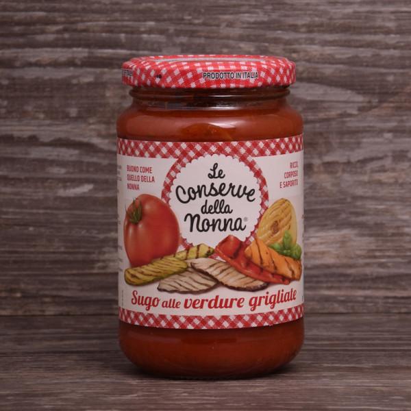 Sugo alle verdure grigliate- Tomatensauce