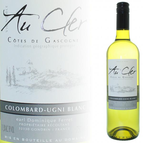 Domaine Ferret Au Cler Cotes de Gascogne Colombard-Ugni Blanc