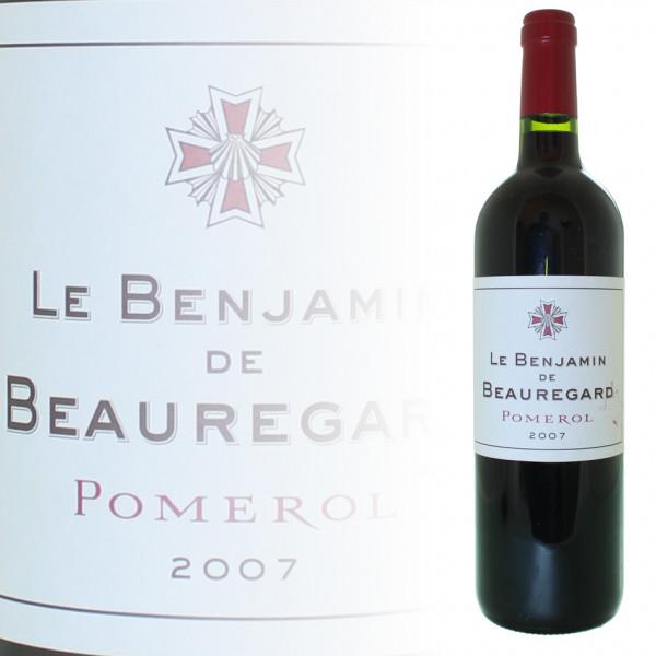 Le Benjamin de Beauregard Pomerol