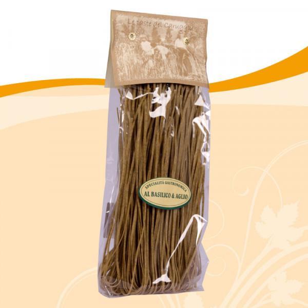 Tagliolini basilico e aglio
