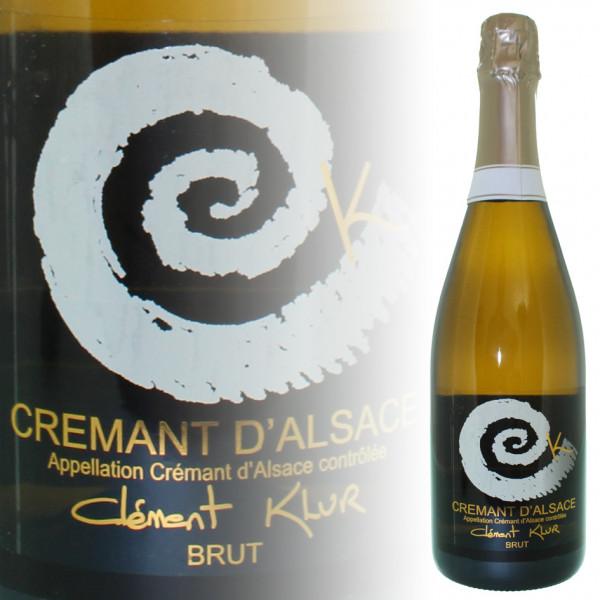 Clément Klur Crémant d'Alsace Brut