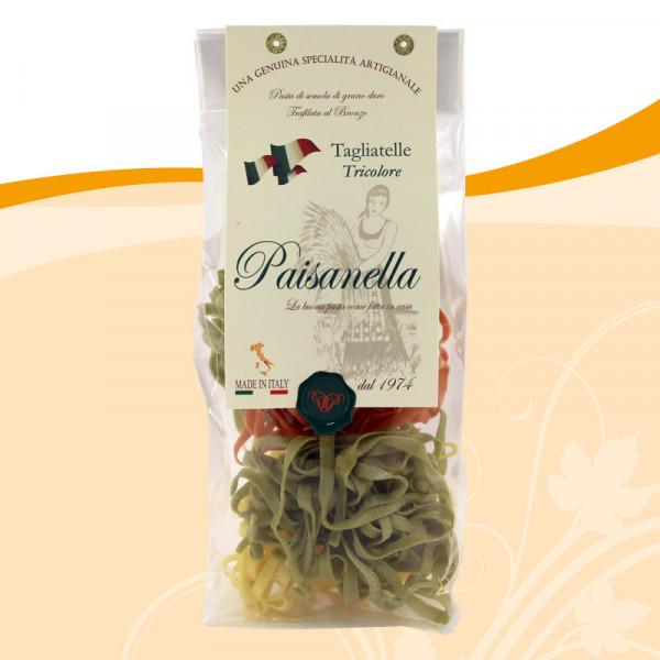 Paisanella Tagliatelle Tricolore