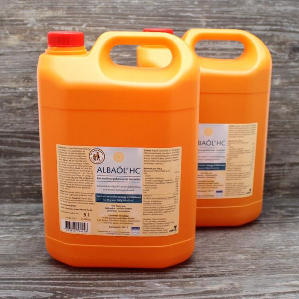 2 x 5 Liter Albaöl-HC