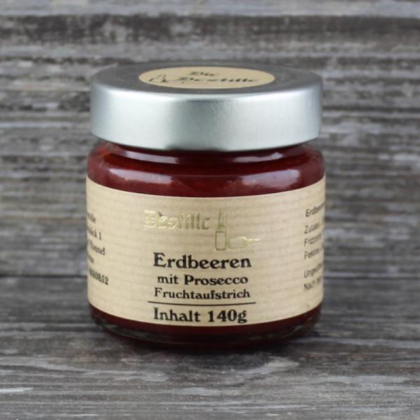 Erdbeer Prosecco Fruchtaufstrich