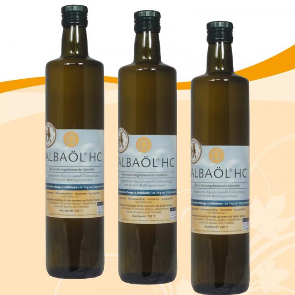Albaöl-HC 0,75 Liter 3 Flaschen